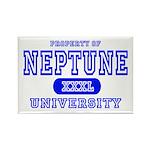 Neptune University Property Rectangle Magnet (10 p
