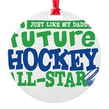 Future Hockey All Star Boy Ornament