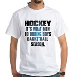 Hockey What Men Do Shirt