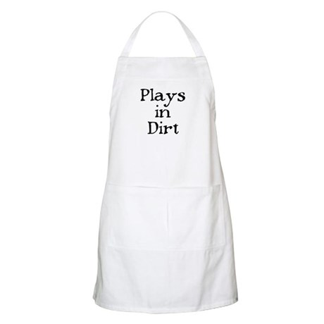 PLAYS IN DIRT BBQ Apron