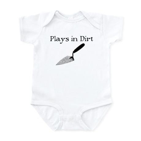 PLAYS IN DIRT Infant Bodysuit