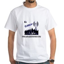 SFR RADIO 24/7 LOGO IN BLUE Shirt