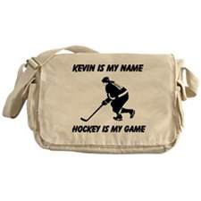 Hockey Is My Game Messenger Bag