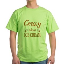 Crazy About Ice Cream T-Shirt