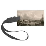 Old London Bridge, 1745 - Luggage Tag