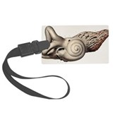 Bony labyrinth, 1844 artwork - Large Luggage Tag