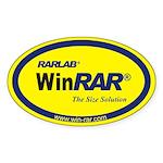 WinRAR Sticker yellow