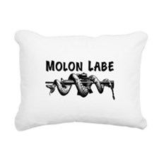 Molon Labe AR15 Rectangular Canvas Pillow