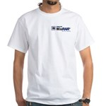 White T-Shirt Logo print front