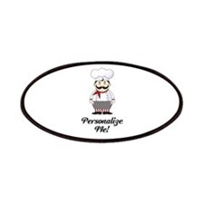Personalized French Chef Patches