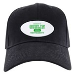 Wicked Witch University Halloween Black Cap