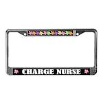Charge Nurse License Frame Gift