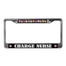 Charge Nurse License Frame Gift