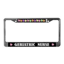Geriatric Nurse License Frame Gift