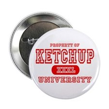 Ketchup University Catsup Button