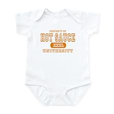Hot Sauce University Infant Bodysuit