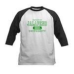 Jalapeno University Pepper Kids Baseball Jersey