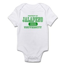Jalapeno University Pepper Infant Bodysuit
