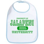 Jalapeno University Pepper Bib