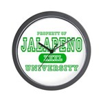 Jalapeno University Pepper Wall Clock