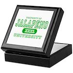 Jalapeno University Pepper Keepsake Box