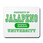 Jalapeno University Pepper Mousepad