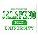 Jalapeno University Pepper Small Poster