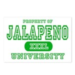 Jalapeno University Pepper Postcards (Package of 8
