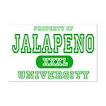Jalapeno University Pepper Mini Poster Print