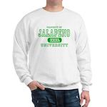 Jalapeno University Pepper Sweatshirt