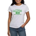 Jalapeno University Pepper Women's T-Shirt