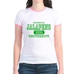 Jalapeno University Pepper Jr. Ringer T-Shirt