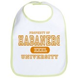 Habanero University Pepper Bib