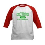 Chili Pepper University Kids Baseball Jersey