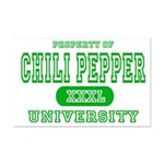 Chili Pepper University Mini Poster Print
