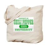 Chili Pepper University Tote Bag
