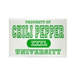 Chili Pepper University Rectangle Magnet