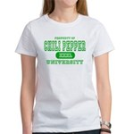 Chili Pepper University Women's T-Shirt