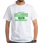 Chili Pepper University White T-Shirt