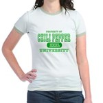 Chili Pepper University Jr. Ringer T-Shirt