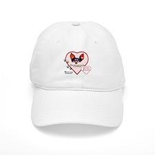 Valentine Dog Baseball Cap