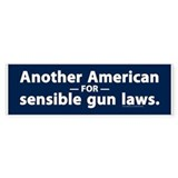 Sensible Gun Laws Bumper Bumper Sticker
