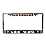 NICU NURSE License Frame Gift