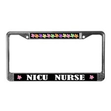 NICU NURSE License Frame Gift