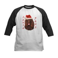 Santa Paws Irish Water Spaniel Tee