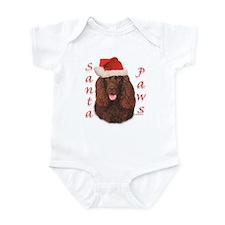Santa Paws Irish Water Spaniel Infant Bodysuit