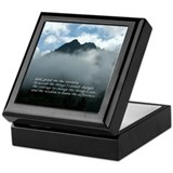 Chimney Tops - Serenity Prayer Keepsake Box