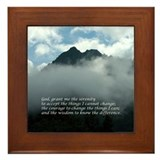 Chimney Tops - Serenity Prayer Framed Tile