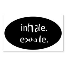 Oval Bumper Stickers Bumper Stickers