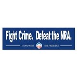 Fight Crime Car Sticker